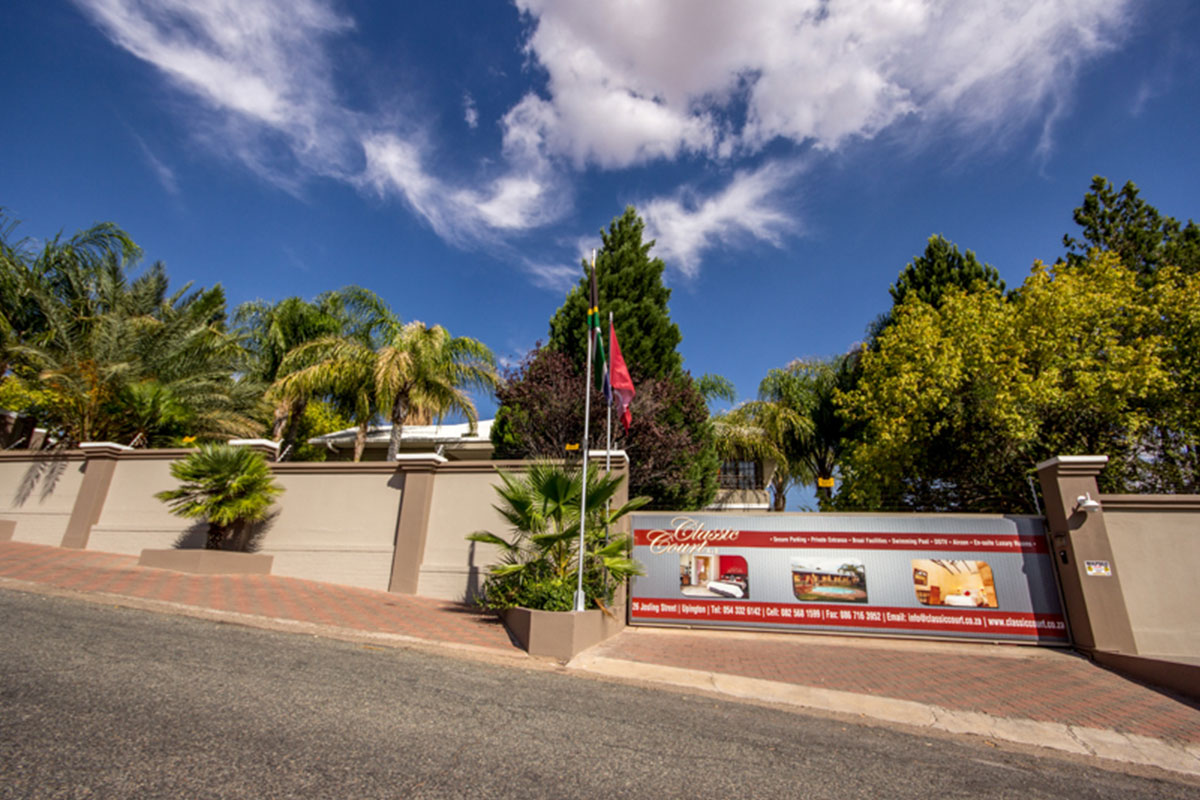 Upington Accommodation | Classic Court B&B and Villa the Upington B&B
